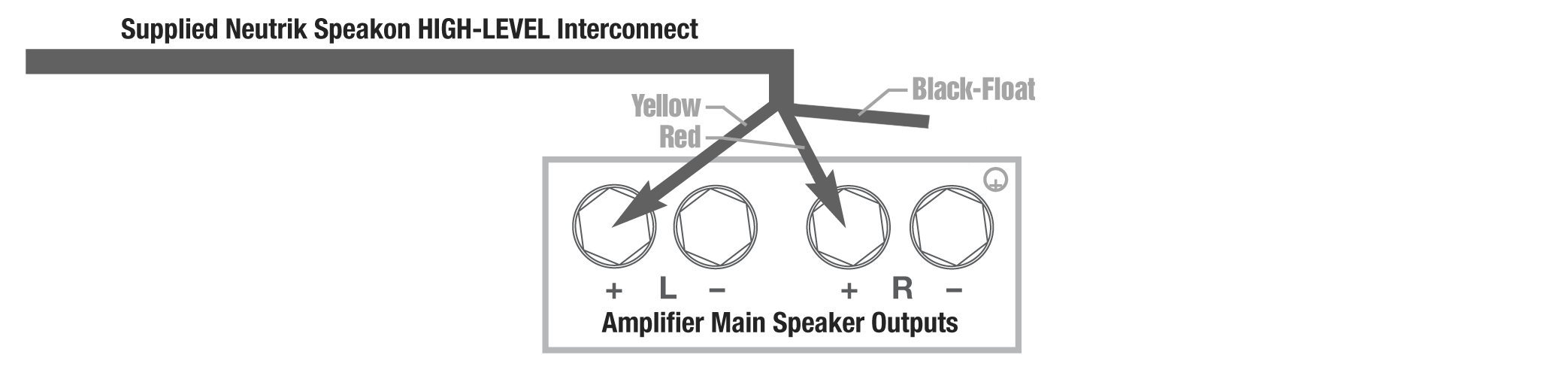 Class_D_connection_image1 class d amp connection methods rel acoustics rel speakon wiring diagram at webbmarketing.co