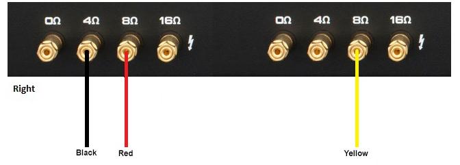 hook up high level input amp
